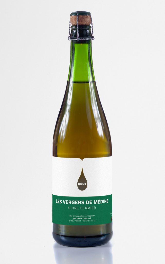 Les Vergers de Médine – Étiquette