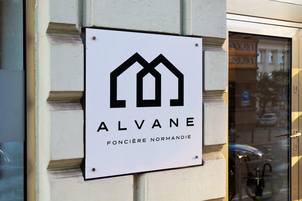Alvane – Logo