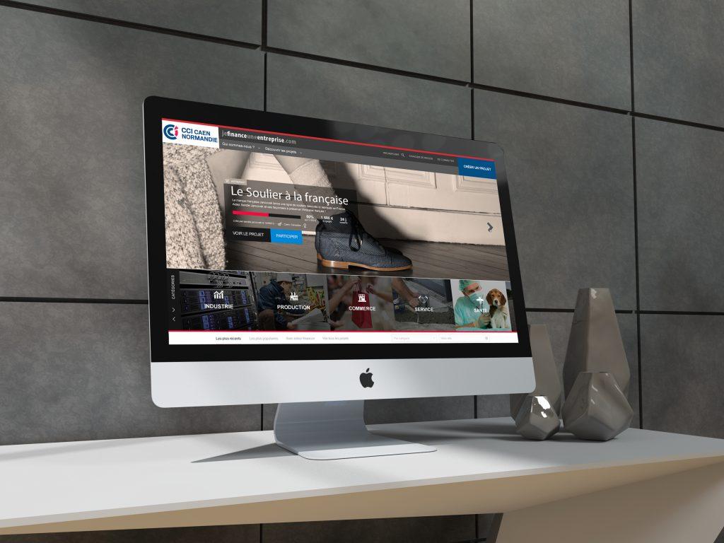 CCI Normandie – Site internet