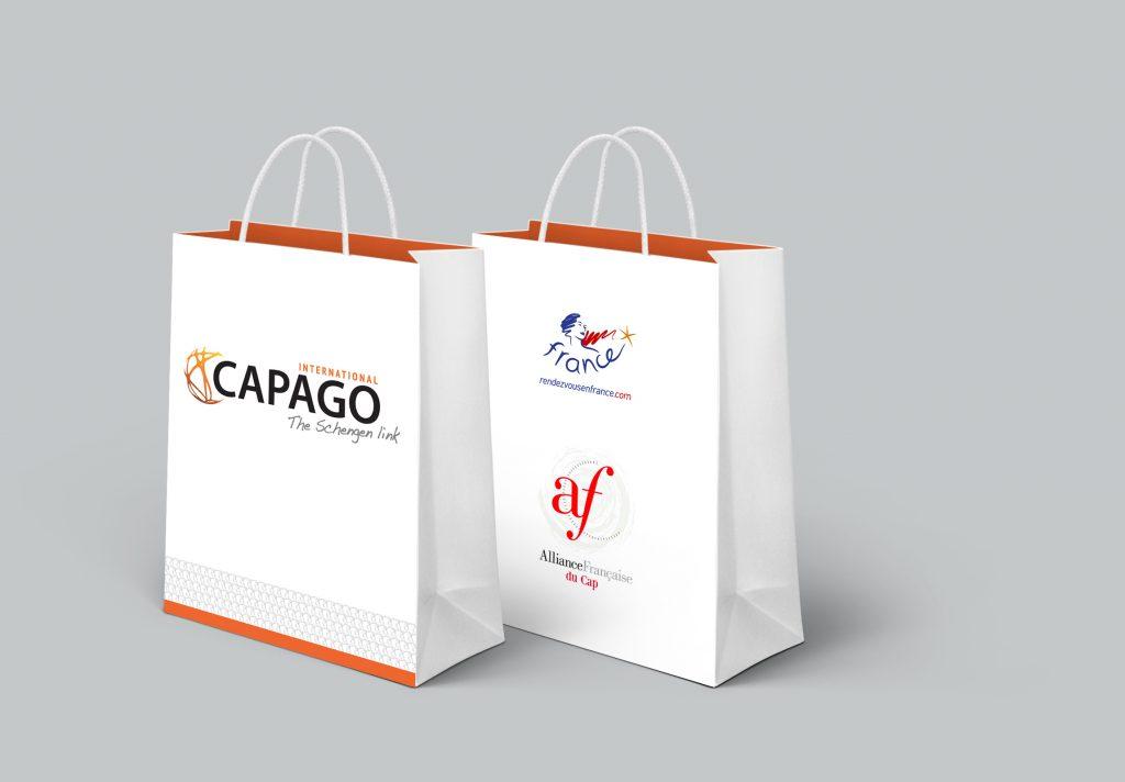 Capago International – Merchandising et goodies