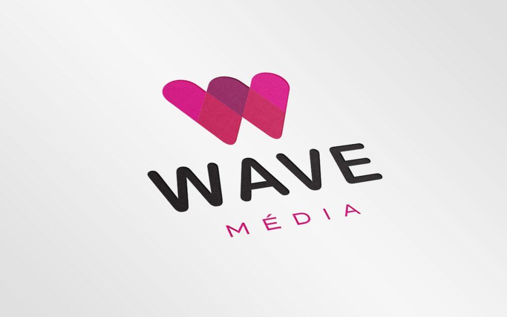 Wave Média – Logo