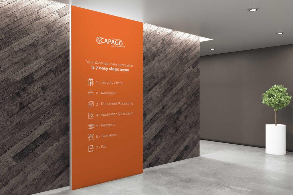 Capago International – Signalétique tous supports