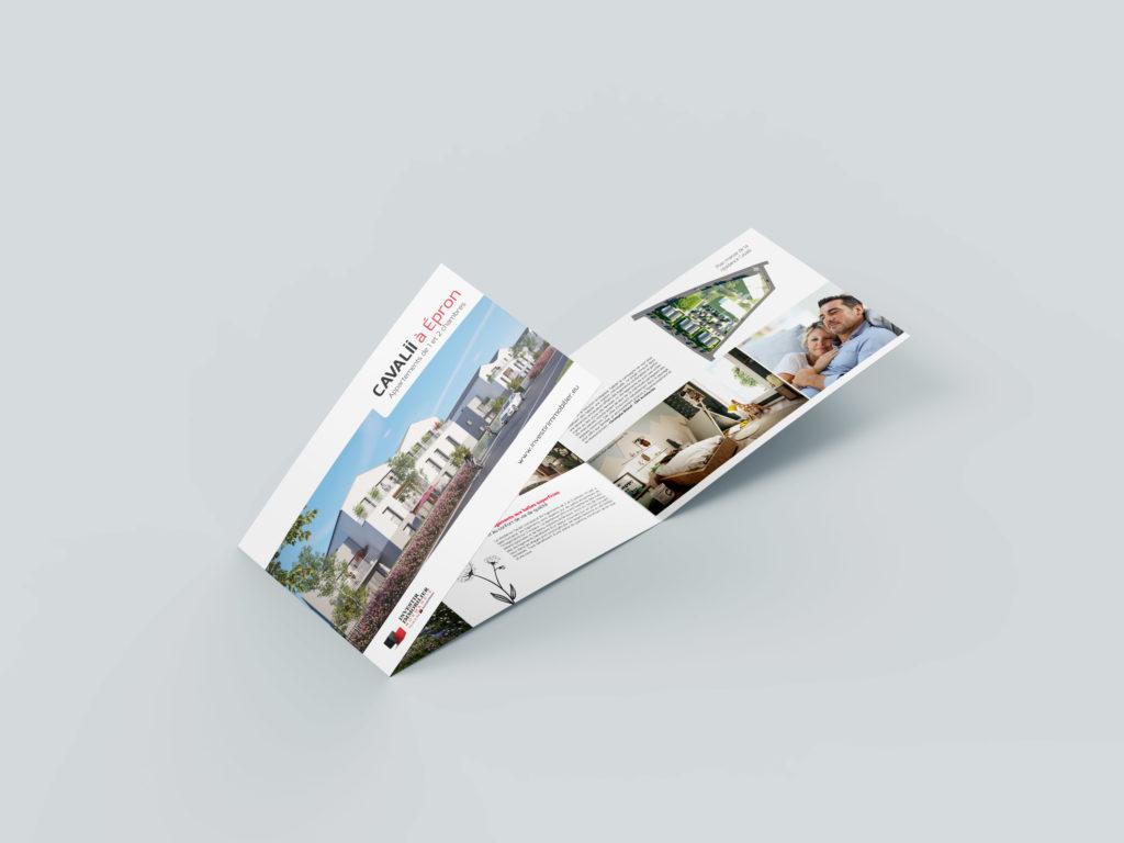 Cavalii – Promotion Immobilière, print & web