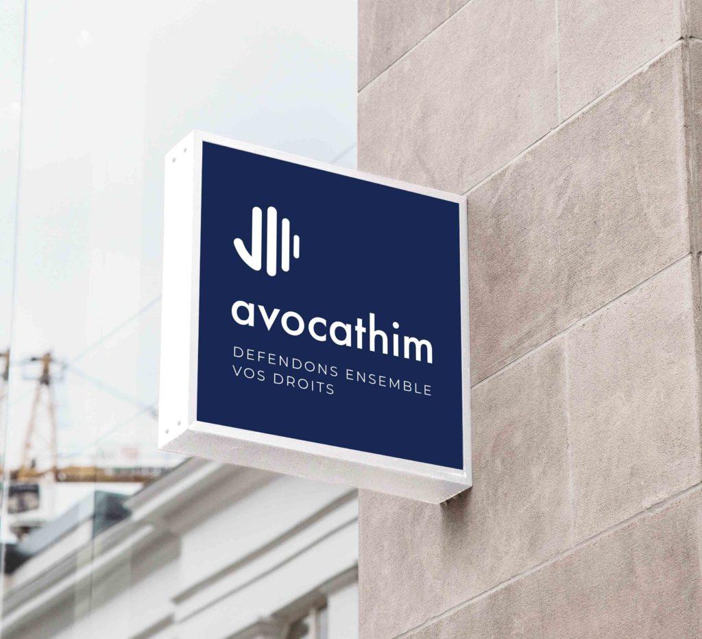 Avocathim – Logo, charte graphique et papeterie